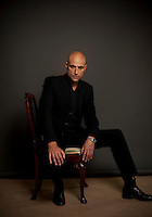 Mark Strong, actor, photographed at the Dorchester Hotel in London while he was promoting his latest role in Robin Hood, which also stars Russell Crowe.