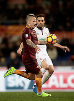 Calcio, Serie A: Roma, Stadio Olimpico, 7 febbraio 2017.<br />