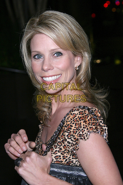 "CHERYL HINES.""For Your Consideration"" Los Angeles Premiere - Arrivals held at the Director's Guild, Hollywood, California , USA,13 November 2006..portrait headshot leopard print dress eye contact eyes to camera.Ref: ADM/ZL.www.capitalpictures.com.sales@capitalpictures.com.©Zach Lipp/AdMedia/Capital Pictures."