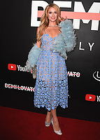"LOS ANGELES- OCTOBER 11: Paris Hilton at the premiere of ""Demi Lovato: Simply Complicated"" at The Fonda Theatre on October 11, 2017 in Los Angeles, California. (Photo by Scott Kirkland/PictureGroup)"