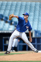Toronto Blue Jays pitcher Matthew Smoral (83) during an Instructional League game against the New York Yankees on September 24, 2014 at George M. Steinbrenner Field in Tampa, Florida.  (Mike Janes/Four Seam Images)