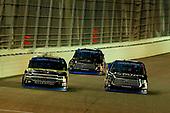 #18: Noah Gragson, Kyle Busch Motorsports, Toyota Tundra Safelite AutoGlass and #24: Justin Haley, GMS Racing, Chevrolet Silverado Fraternal Order Of Eagles
