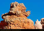 Elephant Hoodoo, Queen's Garden Trail, Bryce Canyon National Park, Utah