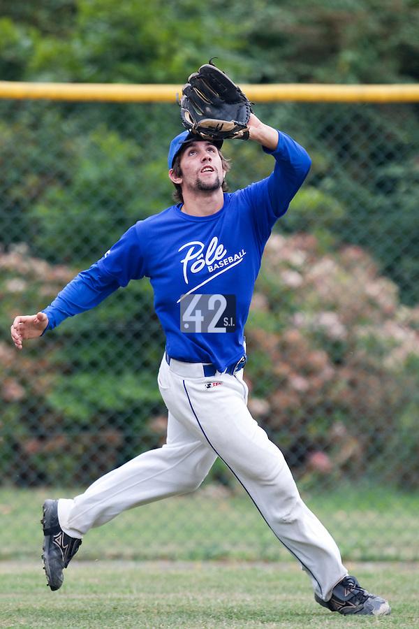23 September 2009: Pole Baseball Rouen, Thomas Gicquel