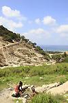 Israel, Mount Carmel, Ein Siach in Wadi Siach