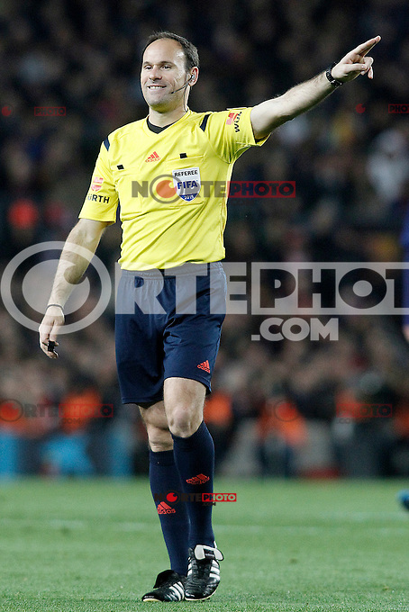 Spanish referee Antonio Miguel Mateu Lahoz during La Liga match.March 22,2015. (ALTERPHOTOS/Acero) /NORTEphoto.com
