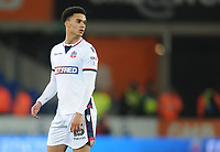 Bolton Wanderers' Antonee Robinson<br /> <br /> Photographer Kevin Barnes/CameraSport<br /> <br /> The EFL Sky Bet Championship - Cardiff City v Bolton Wanderers - Tuesday 13th February 2018 - Cardiff City Stadium - Cardiff<br /> <br /> World Copyright &copy; 2018 CameraSport. All rights reserved. 43 Linden Ave. Countesthorpe. Leicester. England. LE8 5PG - Tel: +44 (0) 116 277 4147 - admin@camerasport.com - www.camerasport.com