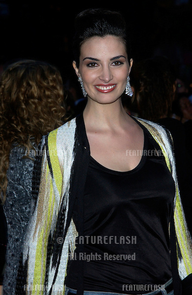 Actress SONIA AQUINO at party at the Cannes Film Festival for HBO Films..17MAY2003