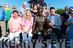 The family of the late John Egan, seated l-r: wife Mary and children Maírín and John Egan Jnr surrounded by family and friends at the unveiling of his Memorial last Saturday in Sneem.