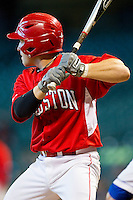 Ryan Still #2 of the Houston Cougars at bat against the Kentucky Wildcats at Minute Maid Park on March 5, 2011 in Houston, Texas.  Photo by Brian Westerholt / Four Seam Images