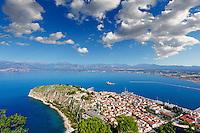 Acronafplia in the bay of Nafplio, Greece