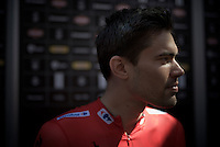 Tom Dumoulin (NLD/Giant-Alpecin) 'profiled' before the start<br /> <br /> stage 19: Medina del Campo - Avila (186km)<br /> 2015 Vuelta &agrave; Espana