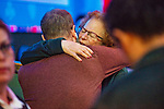 Adam Friedman gets hug from mom, Donna
