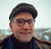 Hafnarverkama&eth;ur &aacute; Akureyri, 1970<br /> <br /> Docker at Akureyri, 1970