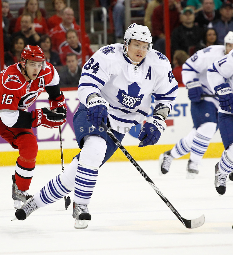 MIKHAIL GRABOVSKI, of the Toronto Maple Leafs.