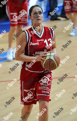 2010-09-12 / Basketbal / seizoen 2010-2011 / BG Willebroek / Liesbeth Roebben..Foto: Mpics