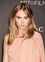 LOS ANGELES, CA - NOVEMBER 02: Suki Waterhouse attends the 2019 LACMA Art + Film Gala at LACMA on November 02, 2019 in Los Angeles, California.<br /> CAP/ROT/TM<br /> ©TM/ROT/Capital Pictures