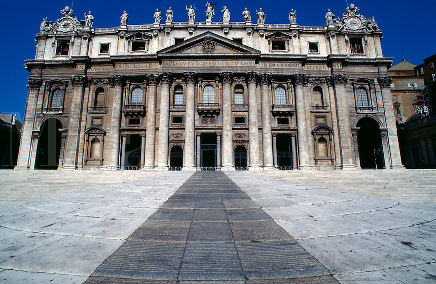 Piazza San Pietro, Rome, Italy