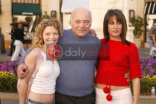 Amanda Detmer, Burt Young and Vanessa Parise