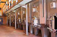 stainless steel tanks domaine bonserine ampuis rhone france