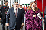 © Joel Goodman - 07973 332324 . 27/09/2016 . Liverpool , UK . TOM WATSON at the ACC conference centre on the third day of the Labour Party Conference at the ACC in Liverpool . Photo credit : Joel Goodman