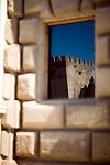Reflection, Palace of Charles V, Granada, Spain