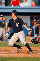 August 16, 2009:  Catcher Kyle Higashioka of the Staten Island Yankees during a game at Dwyer Stadium in Batavia, NY.  Staten Island is the Short-Season Class-A affiliate of the New York Yankees.  Photo By Mike Janes/Four Seam Images