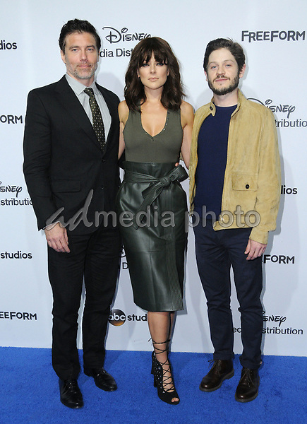 21 May 2017 - Burbank, California - Anson Mount, Serinda Swan, Iwan Rheon. ABC Studios and Freeform International Upfronts held at The Walt Disney Studios Lot in Burbank. Photo Credit: Birdie Thompson/AdMedia