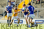 Denis Walsh Feale Rangers in action against John C O'Connor KOR in the  Kerry County Football Championship on Saturday.