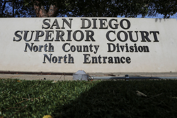 No. 13. 2018. Vista, CA. USA| San Diego Superior Court North County Division's north building located in Vista.| Photos by Jamie Scott Lytle. Copyright.