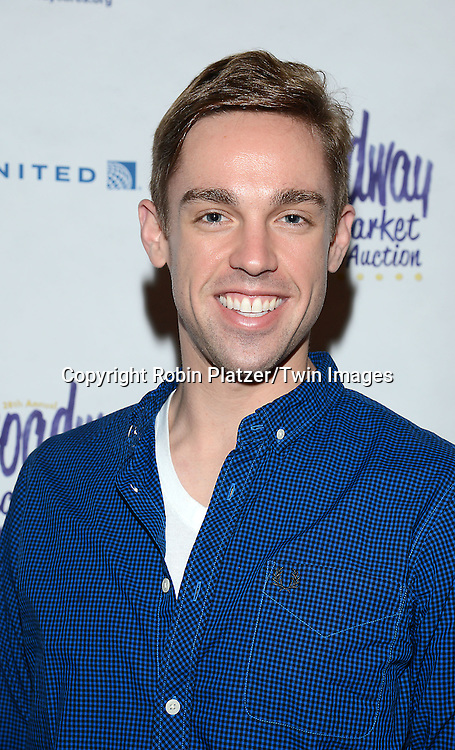 Nic Rouleau attends the 28th Annual  Broadway Cares/ Equity Fights Aids Flea Market and Auction on September 21,2014 in Shubert Alley in New York City. <br /> <br /> photo by Robin Platzer/Twin Images<br />  <br /> phone number 212-935-0770