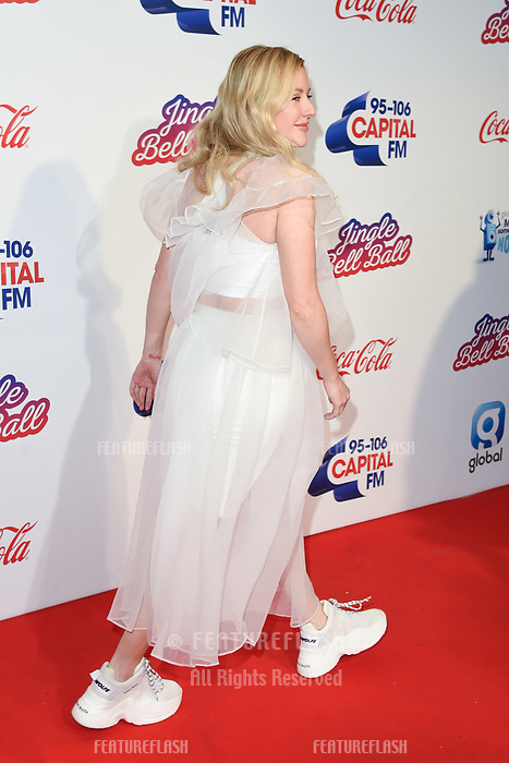 LONDON, UK. December 08, 2018: Ellie Goulding at Capital&rsquo;s Jingle Bell Ball 2018 with Coca-Cola, O2 Arena, London.<br /> Picture: Steve Vas/Featureflash
