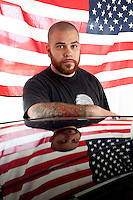 Matthew Gonzales was once a hard-charging athlete. After two tours of duty in Iraq, he is not one anymore, and won't be again, barring medical treatment he can't afford. (2012)