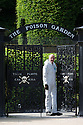 07/07/15<br /> <br /> Head Gardener, Trevor Jones, stands by the gates to the Poison Garden. <br /> <br /> The Poison Garden, Alnwick Garden.<br /> <br /> All Rights Reserved: F Stop Press Ltd. +44(0)1335 418629   www.fstoppress.com.
