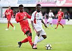 2018-06-22 / Voetbal / Seizoen 2018-2019 / Hoogstraten VV - R. Antwerp FC / Soleymane Diomande (Hoogstraten) aan de bal<br /> <br /> ,Foto: Mpics