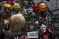 Takeshita Street in Harajuku is the place to go for your bizarre costume needs. Have you just been dying to dress up like your favorite cartoon character and can't wait for Halloween?  Harajuku is a fantasy world and what would be jaw-droppingly bizarre anywhere else in the world, is par for the course here.   Japan is often described as a country of paradoxes, hung between the traditional and the modern.  Harajuku displays these contrasts like no other place in Japan. Tokyo is a city that's usually dressed to the nines - a place that prides itself on being well turned out.  But a carnival-like scene has been going on for years in Harajuku with costumes that are outlandish, fun, colorful, quirky and sometimes kinky.