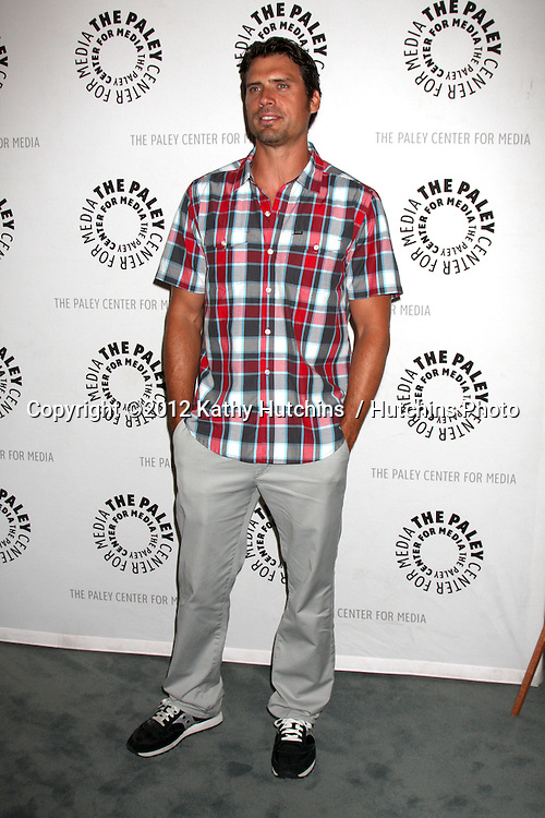 """LOS ANGELES - AUG 23:  Joshua Morrow arrives at """"The Young & Restless"""": Celebrating 10,000 Episodes at Paley Center for Media on August 23, 2012 in Beverly Hills, CA"""