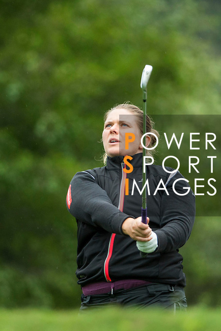 Malone Jorgensen of Denmark tees off during Round 1 of the World Ladies Championship 2016 on 10 March 2016 at Mission Hills Olazabal Golf Course in Dongguan, China. Photo by Victor Fraile / Power Sport Images