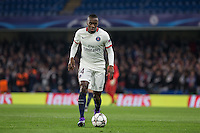 Blaise Matuidi of Paris Saint-Germain on the ball during the UEFA Champions League Round of 16 2nd leg match between Chelsea and PSG at Stamford Bridge, London, England on 9 March 2016. Photo by Andy Rowland.
