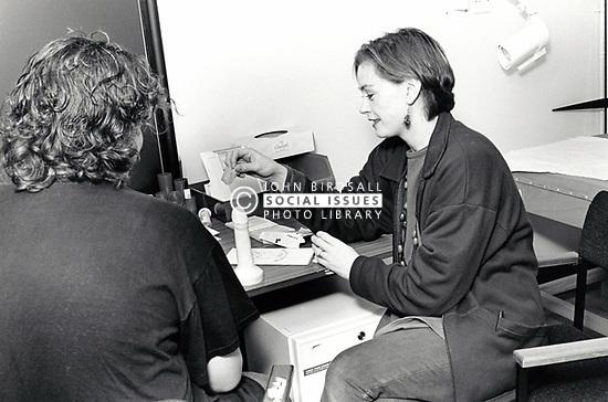 Sex education, Nottingham, UK late 80s/early 90s