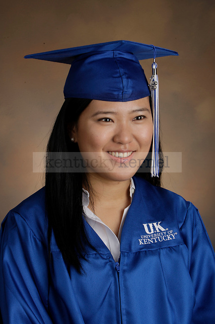 Yang, Heejin photographed during the Feb/Mar, 2013, Grad Salute in Lexington, Ky.