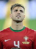 FUSSBALL  EUROPAMEISTERSCHAFT 2012   VORRUNDE Deutschland - Portugal          09.06.2012 Miguel Veloso (Portugal)