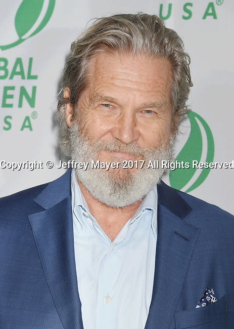 LOS ANGELES, CA - FEBRUARY 22: Actor Jeff Bridges arrives at the 14th Annual Global Green Pre-Oscar Gala at TAO Hollywood on February 22, 2017 in Los Angeles, California.