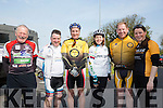 l-r  Jim Costello, Niall O Loingsigh, Martin Tierney, Kathleen Reidy, Bob Walsh and Joanne Allman, from Tralee Tri Club at the Fenit Lifeboat charity fun cycle from O'Donnells, Mounthawk on Saturday
