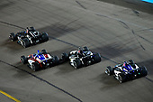 Ed Carpenter, Ed Carpenter Racing Chevrolet, Tony Kanaan, A.J. Foyt Enterprises Chevrolet, Graham Rahal, Rahal Letterman Lanigan Racing Honda, Takuma Sato, Rahal Letterman Lanigan Racing Honda