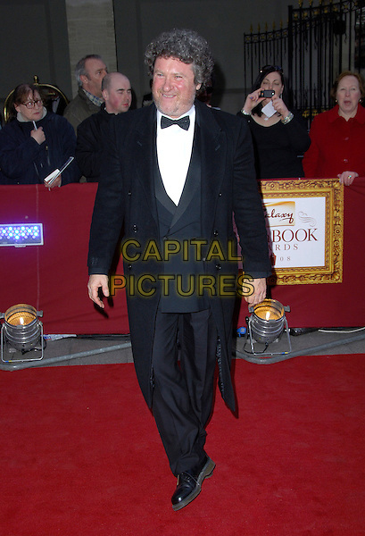 RORY McGRATH .Attending the Galaxy British Book Awards held at the Grosvenor Hotel, Park Lane, London, England, .April 9th 2008.full length black suit bow tie .CAP/CAS.©Bob Cass/Capital Pictures