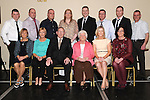 Tommy and Philomena Martin celebrating their 50th wedding anniversary in the Boyne Valley hotel with sons Fergus, Donal, Sean, Thomas, Declan, Matthew, Declan, Brendan, daughters Collette, Annette, Fiona, Evelyn and Martina. Photo: Colin Bell/pressphotos.ie