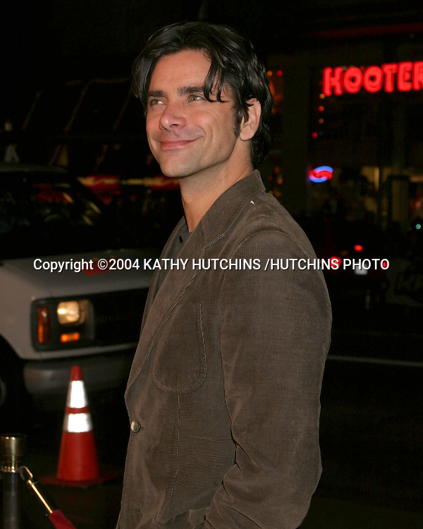 ©2004 KATHY HUTCHINS /HUTCHINS PHOTO.TEAM AMERICA:  WORLD POLICE PREMIERE.LOS ANGELES, CA.OCTOBER 11, 2004..JOHN STAMOS