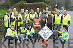 Muckross locals and members of the Killarney Tidy towns who turned up for the clean up on the Muckross road on Saturday morning....