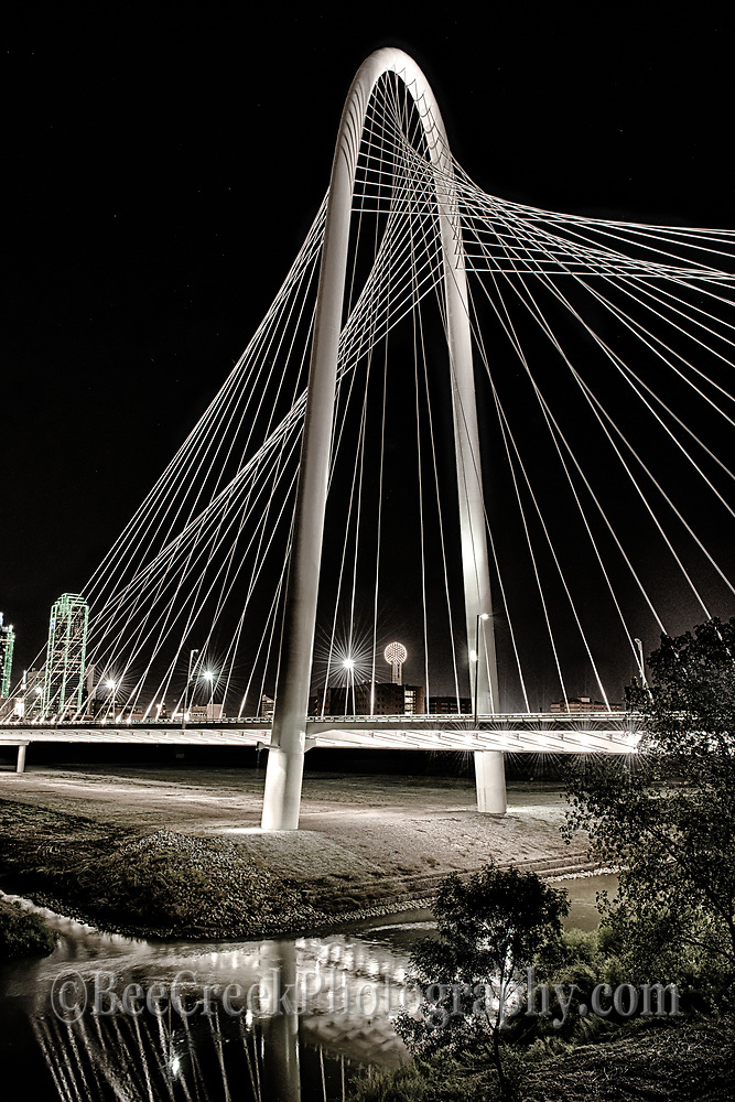 Margaret Hunt Hill Bridge in Dallas Texas